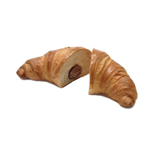 Big curved croissant no glaze choc