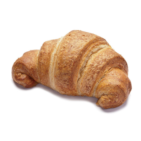 Wholemeal curved croissant plain