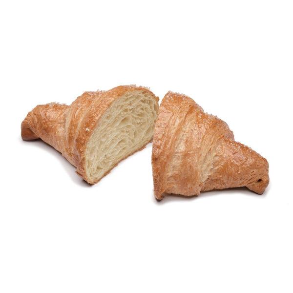 Wholemeal curved croissant plaint