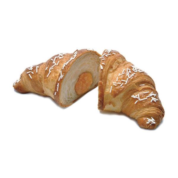 """Big curved """"Decor"""" croissant apricot jam"""