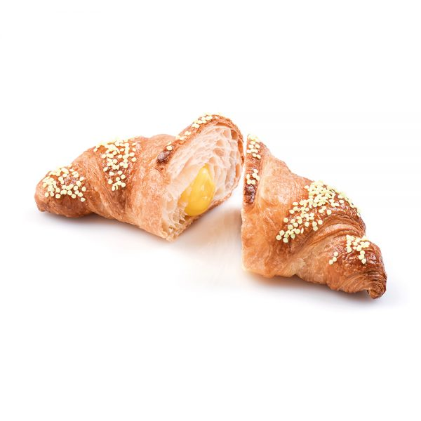 Big curved croissant custard Mamita