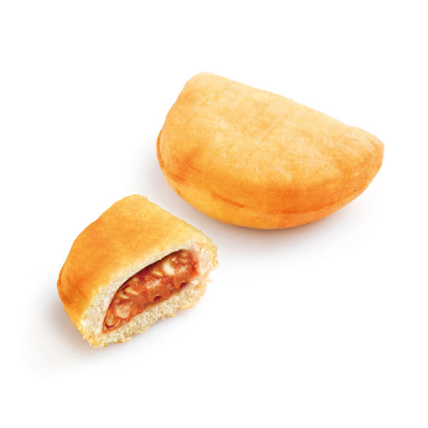 Tomato and mozzarella small calzone