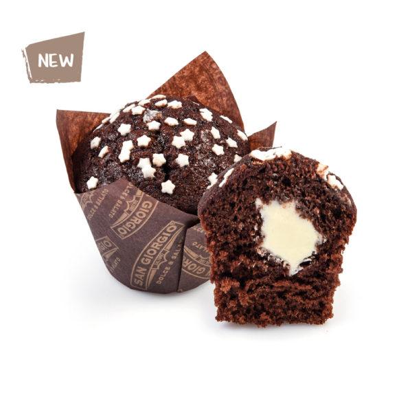 Muffin Stellotto al cioccolato bianco