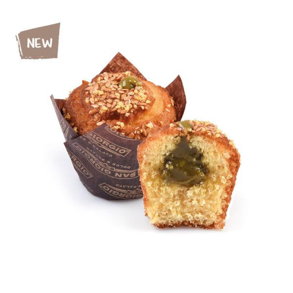Muffin classico al pistacchio